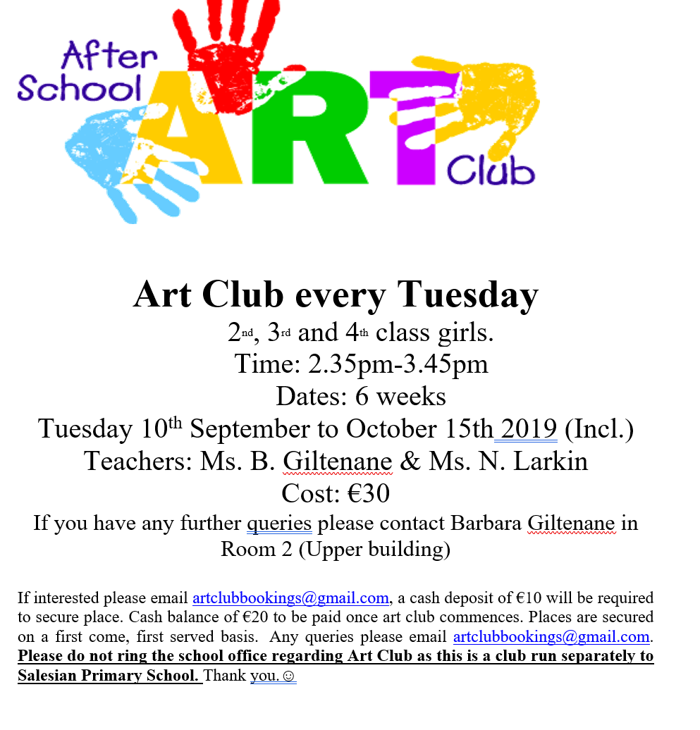 After School Art Club