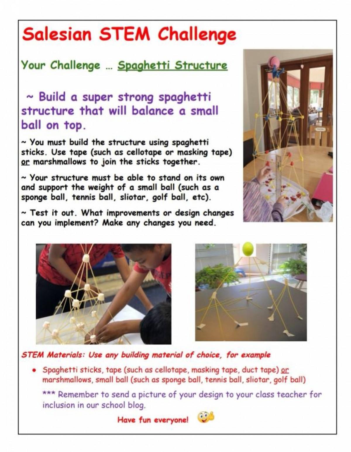 Spaghetti Structure Challenge Blog