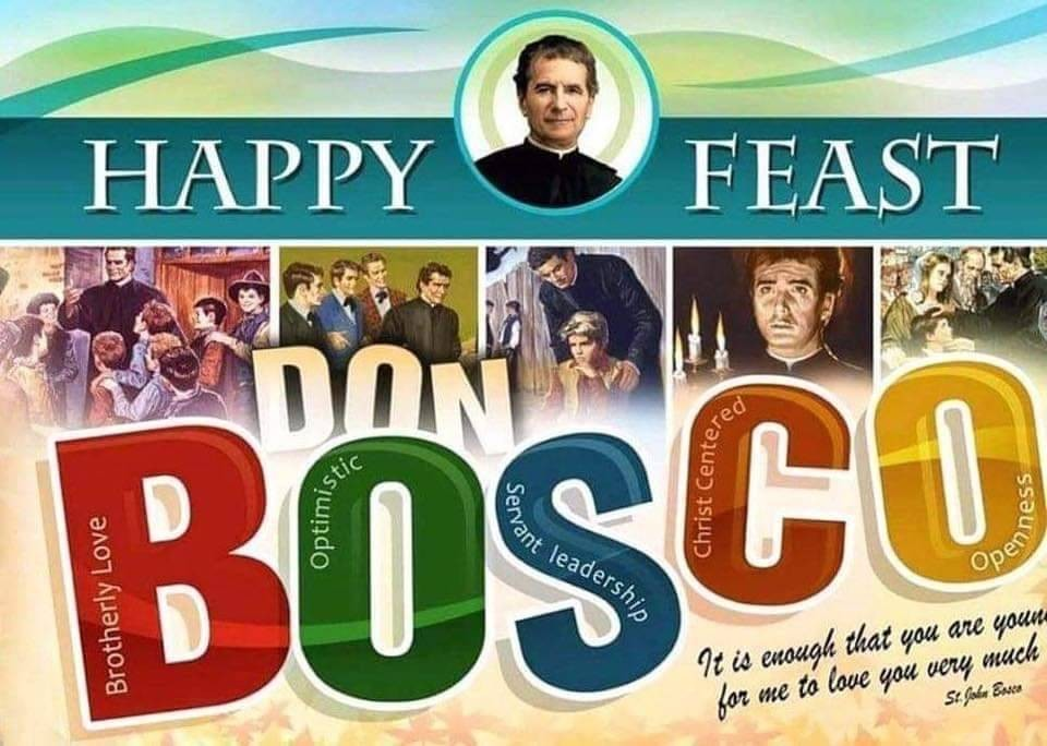 Happy Feast of Don Bosco from 6th Class